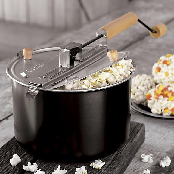 theater popcorn popper delicious popcorn pinterest crates barrels and dinnerware. Black Bedroom Furniture Sets. Home Design Ideas