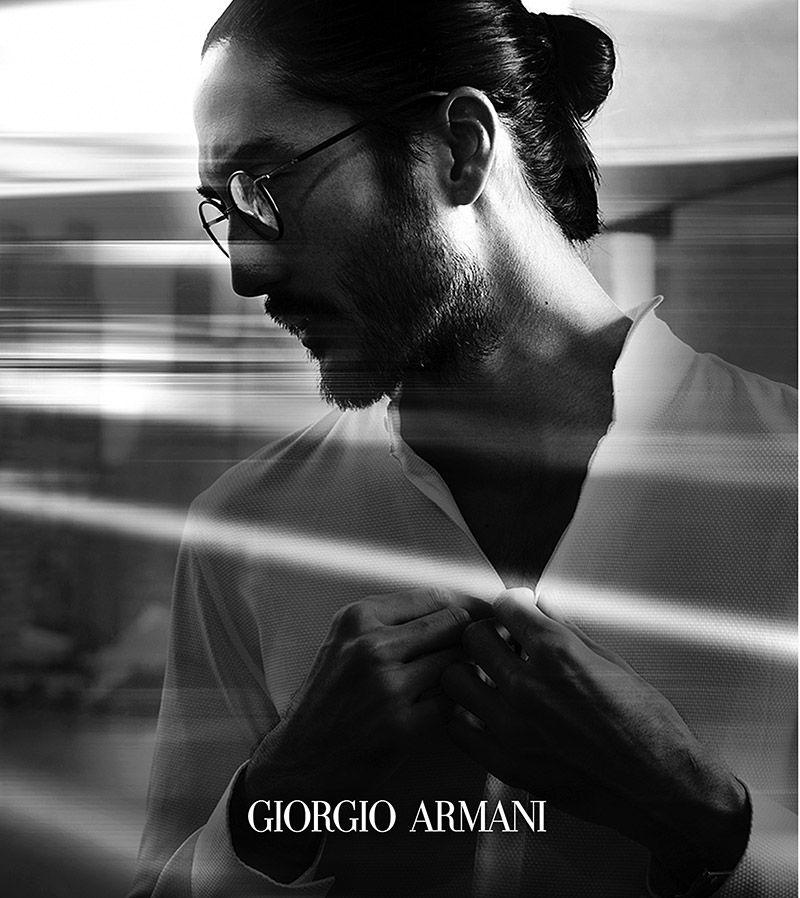 ff1bafed12a8e Giorgio Armani Eyewear  Frames of Life Spring Summer 2014 Campaign ...