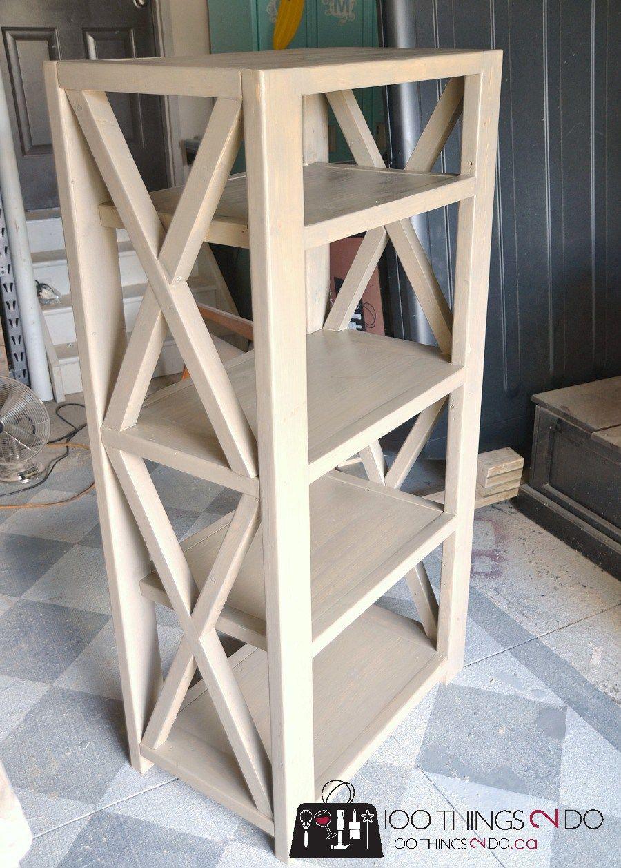 diy rustic x bookshelf diy bookshelf ana white rustic x 21 diy bookshelf build your own bookshelf farmhouse bookshelf - Build Your Own Bookshelves
