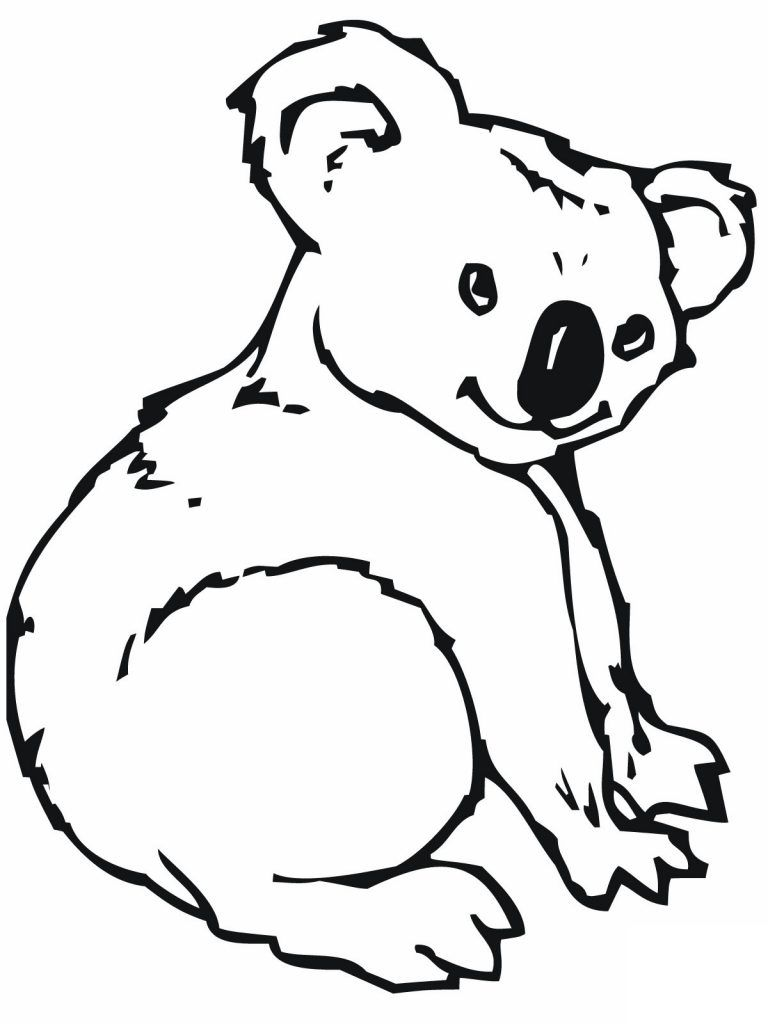 Free Printable Koala Coloring Pages For Kids Bear Coloring Pages Animal Coloring Pages Cute Coloring Pages