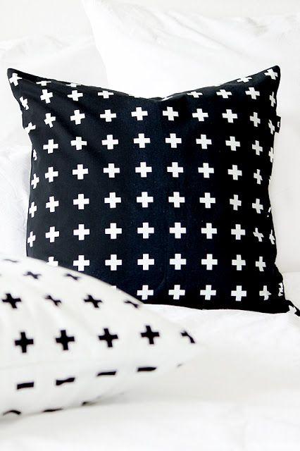 black + white Home inspiration Pinterest Accessoire deco, Noir