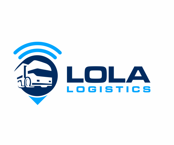 Lola Logistics Logo Design For Cargo Company Png 600 500 Logomarca