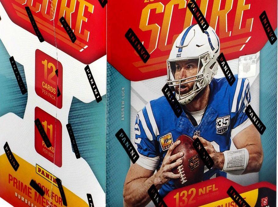 2019 score nfl football blaster box 132 cards nfl