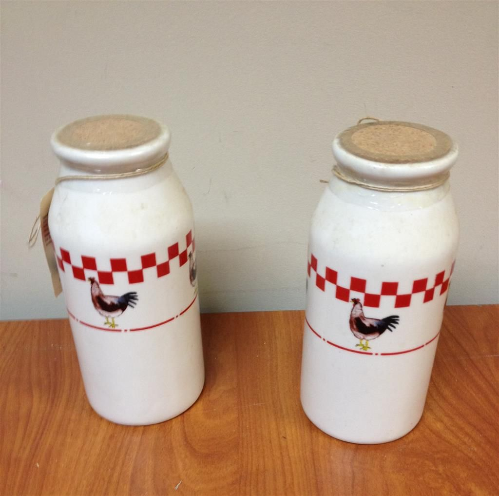 Lot of Canisters, Cookie Jars and Serving Plates