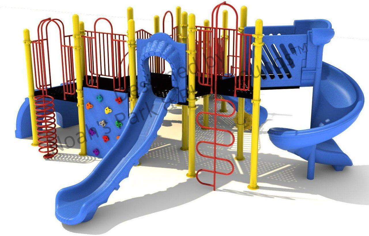 Noahs Park and Playgrounds - Gotebo Play Structure, $16,220.00 (http://noahsplay.com/ada-equipment/ada-structures/gotebo-play-structure/)