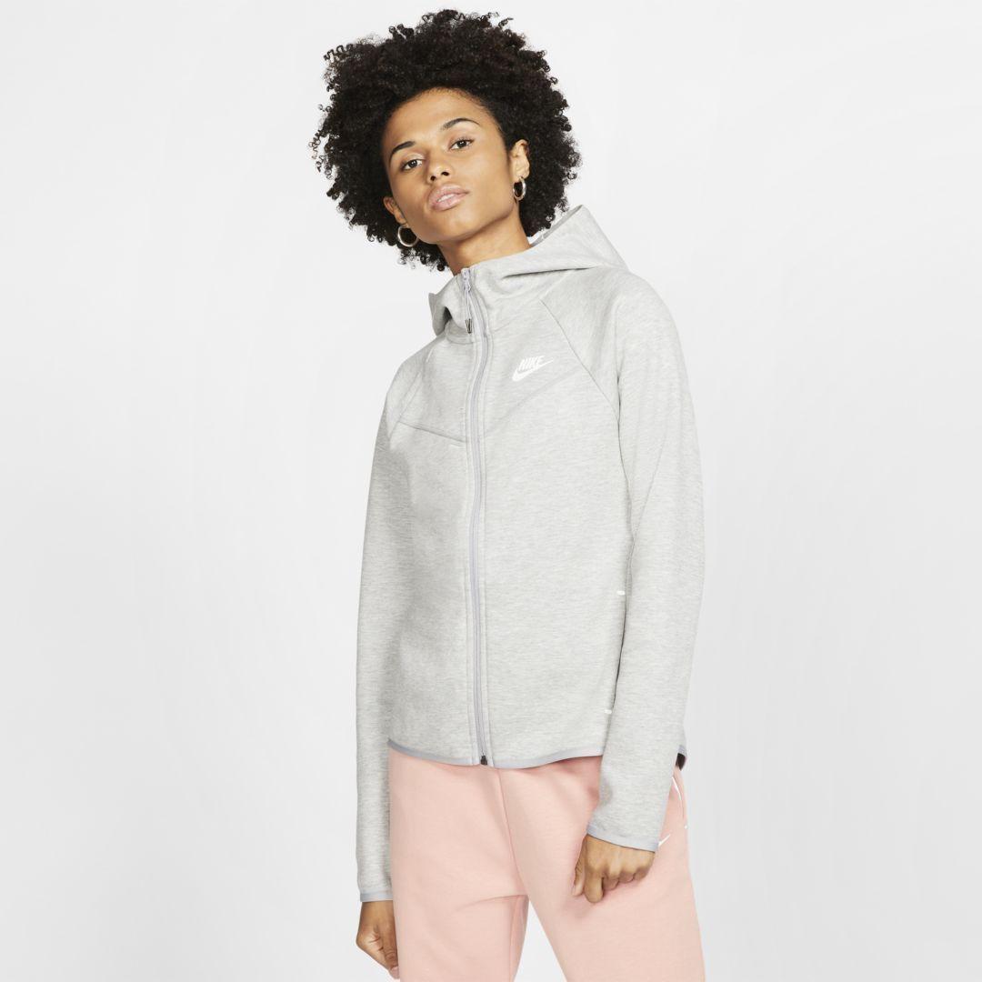 Nike Sportswear Windrunner Tech Fleece Women's Full-Zip Hoodie. Nike.com #niketops