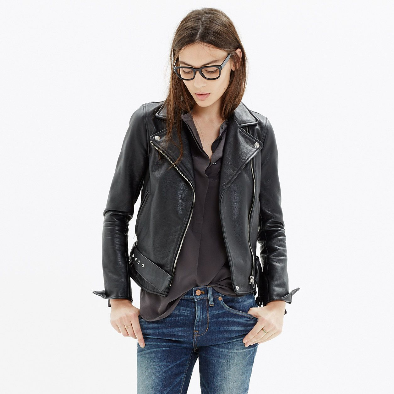 Ultimate Leather Motorcycle Jacket Best Leather Jackets Clothes Denim Jacket Women [ 1254 x 1254 Pixel ]