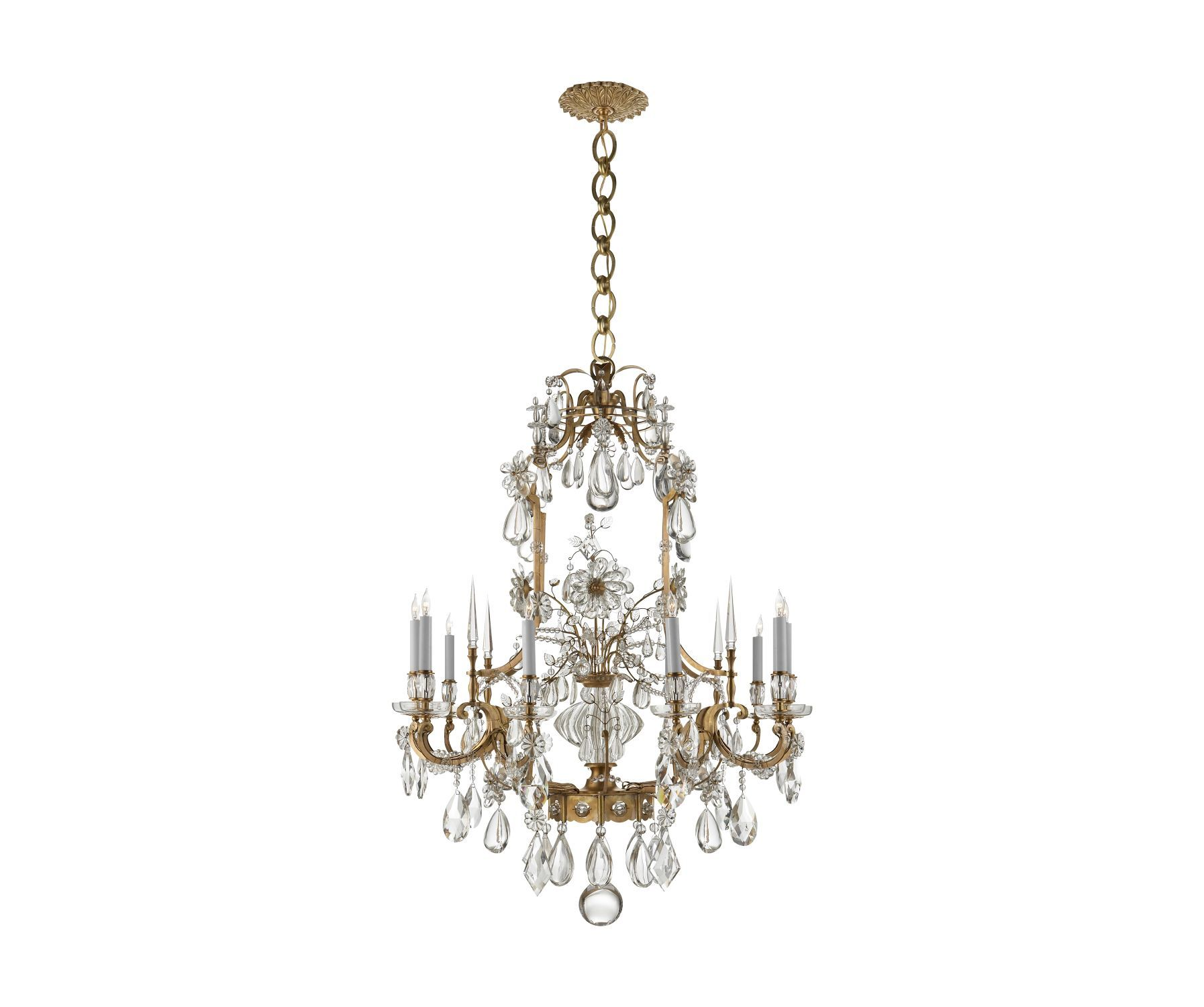 AERIN Vestry Chandelier There s something uniquely old world
