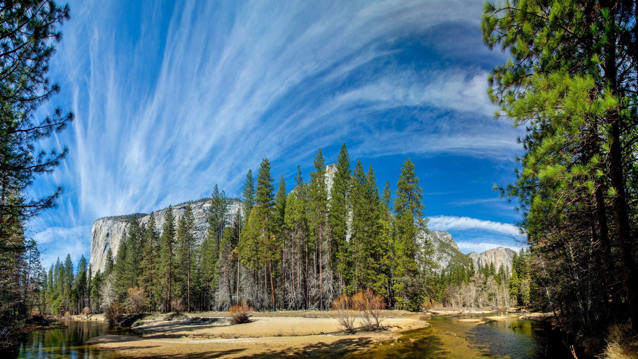 Download Wallpaper 2560x1440 Yosemite national park