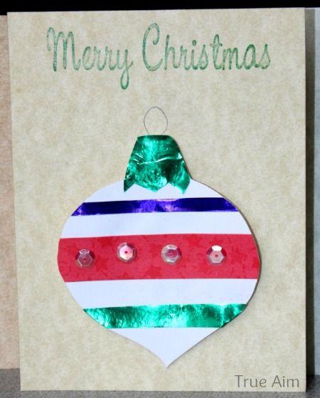Christmas Crafts For Kids: Handmade Christmas Ornament