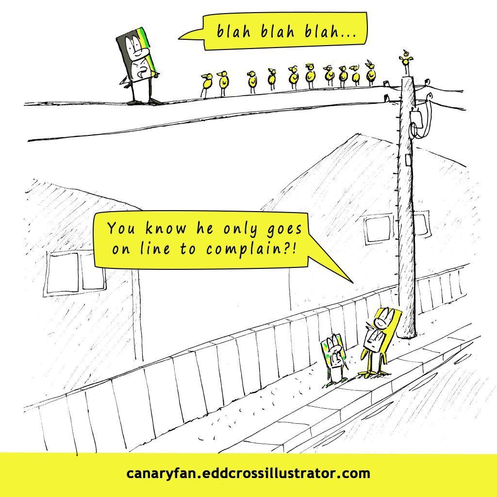 Canary Fan Season 6 Cartoon #14