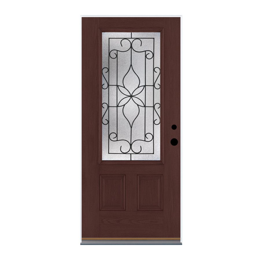 Therma Tru Benchmark Doors Florentino 2 Panel Insulating Core 34