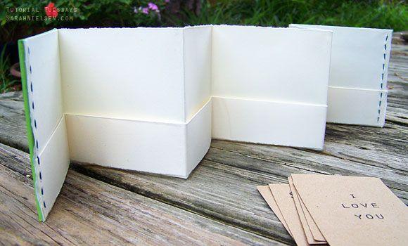 Tutorializer How To Make A Pocket Accordion Book Via Pocket