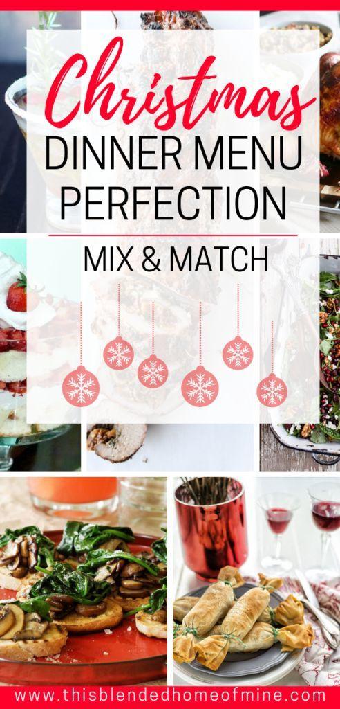 Christmas Dinner Menu Ideas images
