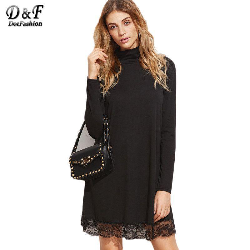 Elegant Dress Full Sleeve Dresses Casual Designer Style Women ...