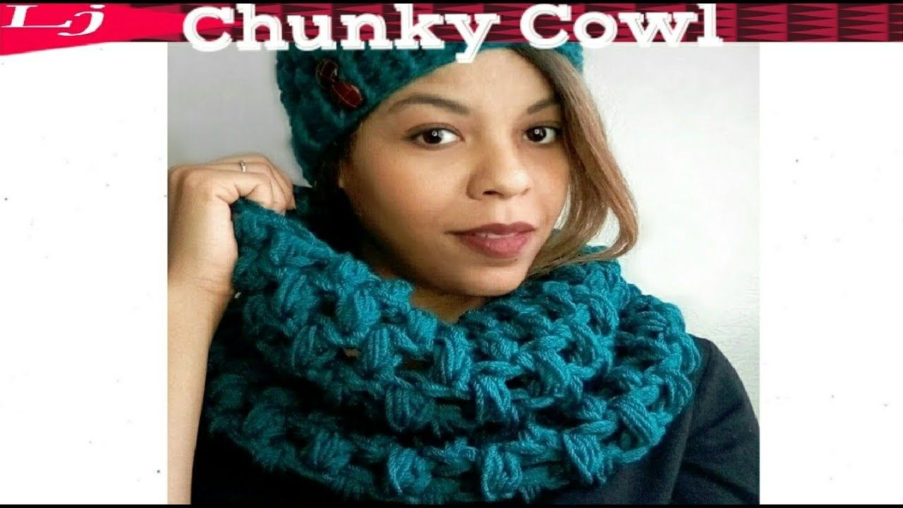 Crochet Super Chunky Cowl How To Substitute Worsted Weight Yarn