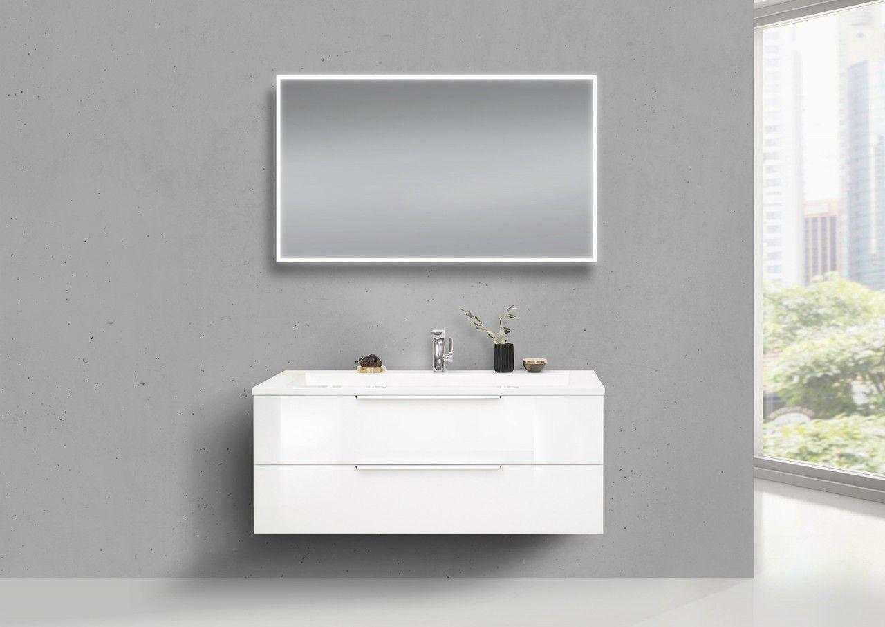 Design Badmobel Cubo 120 Cm Evermite Waschbecken Weiss Hochglanz Lack Jetzt Bestellen Unter Https Moebel Lad Unterschrank Badmobel Set Waschtischunterschrank