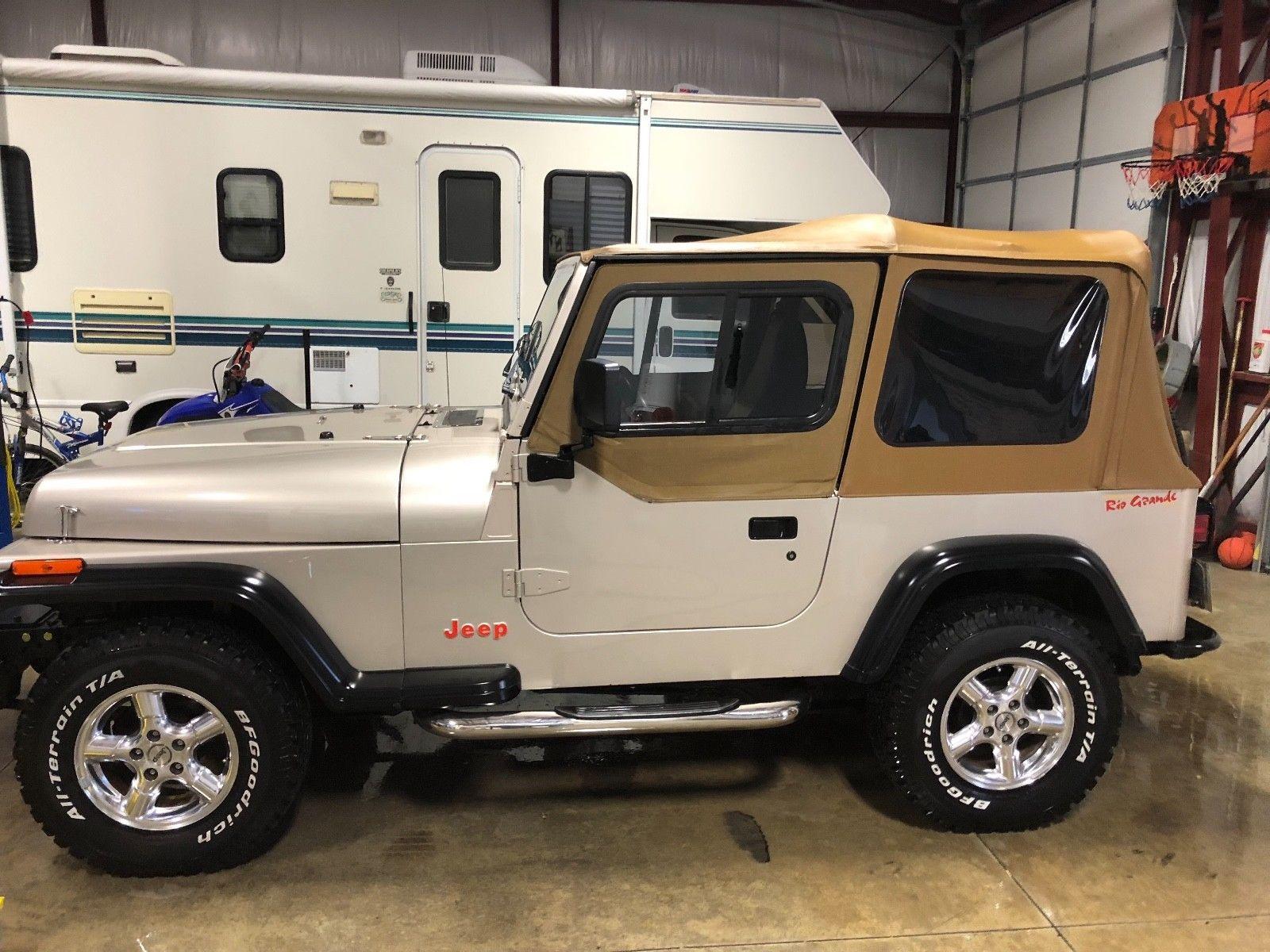 eBay: 1995 Jeep Wrangler Rio Grande 1995 Jeep Wrangler YJ ... on