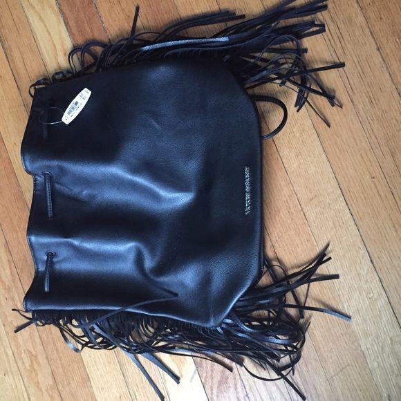Victoria Secret backpack Black leather Victoria Secret backpack Victoria's Secret Bags Backpacks