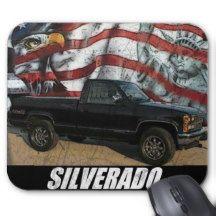 1988 K1500 Silverado Fleetside Mouse Pad