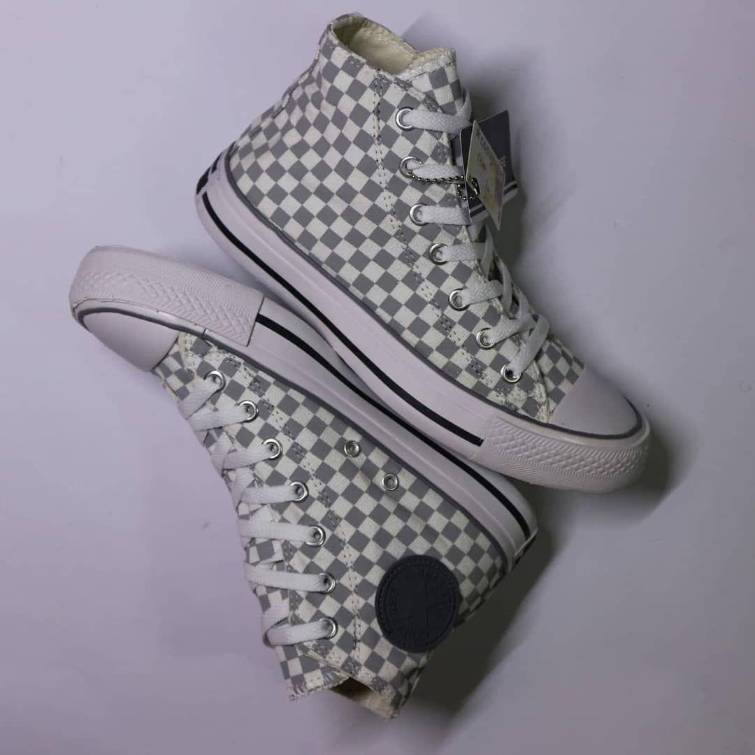 Ready Stok Sepatu Converse Catur High Pria Wanita Keren