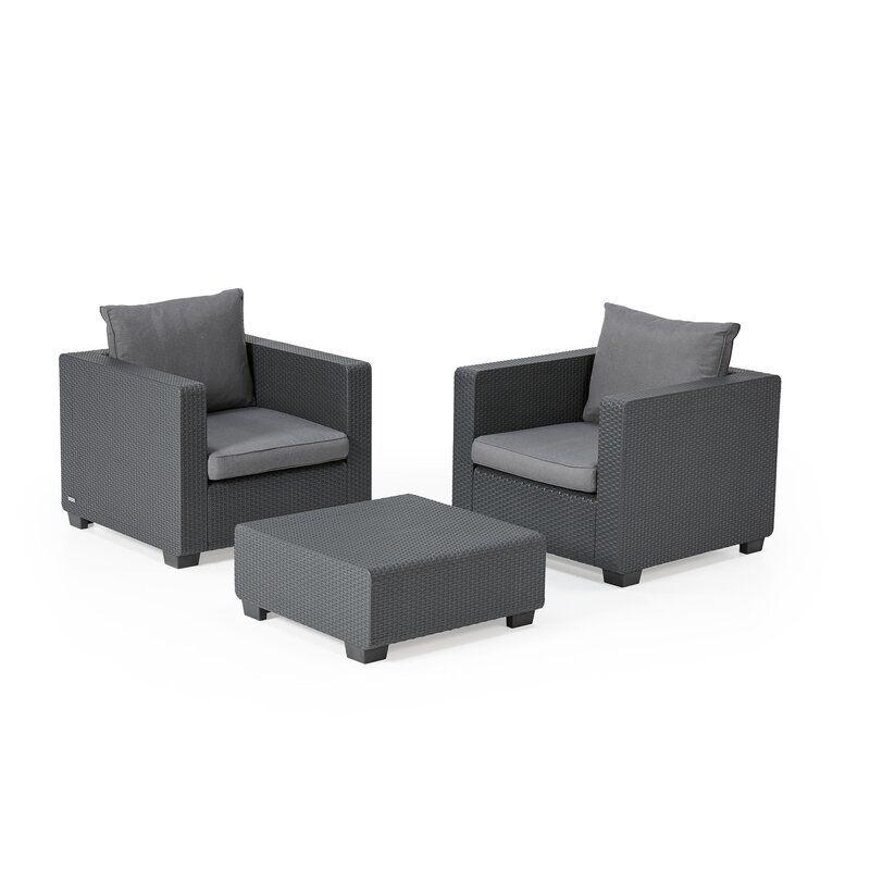 Ivy Bronx Halloran Patio Chair With Sunbrella Cushions Reviews Wayfair In 2020 Patio Chairs Outdoor Furniture Sets Sunbrella Cushions
