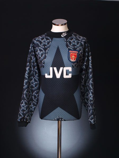 ab0a6f86432 1994-95 Arsenal Goalkeeper Shirt | Arsenal | Goalkeeper shirts ...