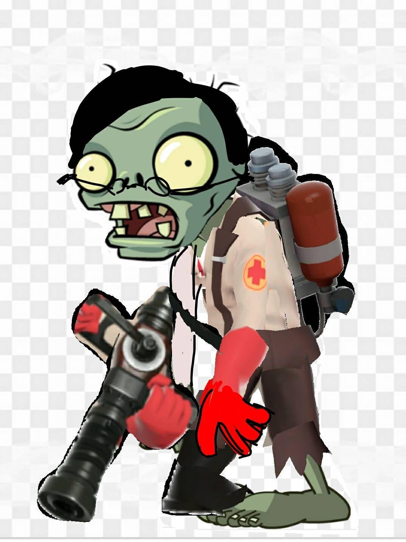 Medic zombie by Allstarzombie55 on DeviantArt in 2020