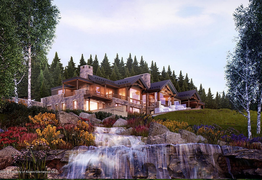 Sunnyside Ridge A 36 Million Newly Built Mansion In Aspen Co Homes Of The Rich In 2020 Mansions Aspen House House In The Woods