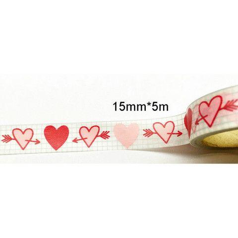 Washi | Valentine Heart - OHDEERME