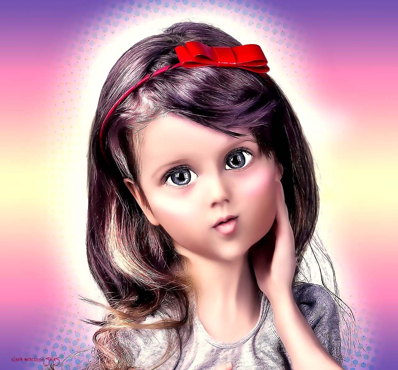 Las chicas hasta que cumplen 10 años juegan con muñecas, luego se pasan el resto del tiempo tratando de ser una......