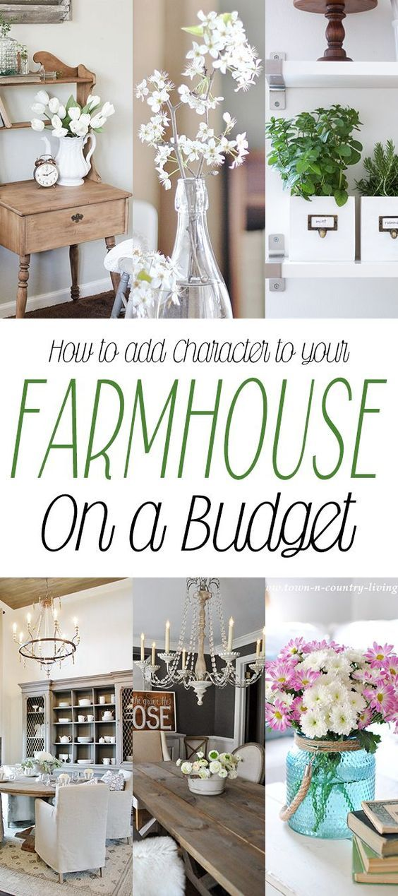 How to add Character to your Farmhouse on a Budget - The Cottage Market