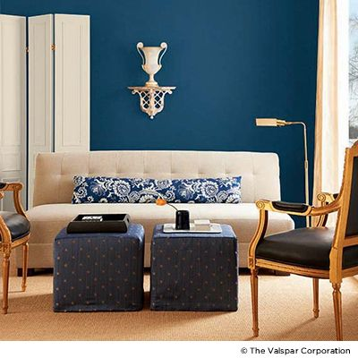 Explore The World Of Blues Click Through To Play With Valspar