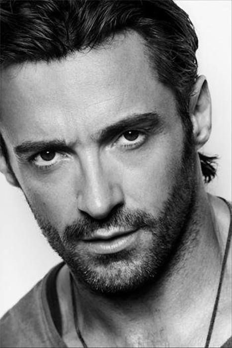 Hugh Jackman :: Like, this looks like Hugh Jackman, but there's something about his face that also doesn't really look like Hugh Jackman. Right?