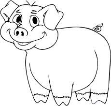 Image Result For Animal Fill Colour Animal Coloring Pages Cartoon Drawings Of Animals Animal Templates
