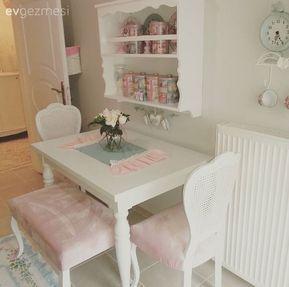 Ayşe hanımın country stilde tatlı evi.. | Ev Gezmesi Balkon