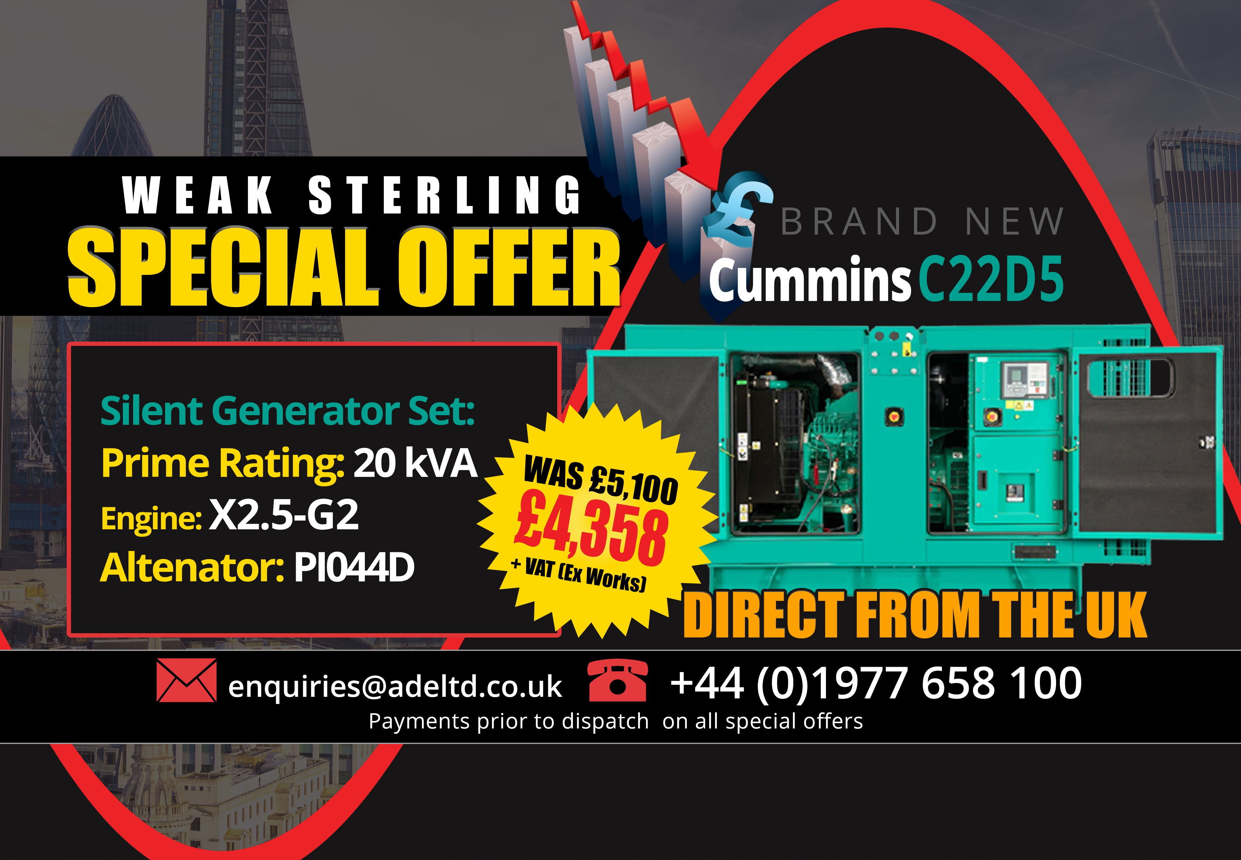 Even more Diesel Generator Deals from Advanced We re putting up