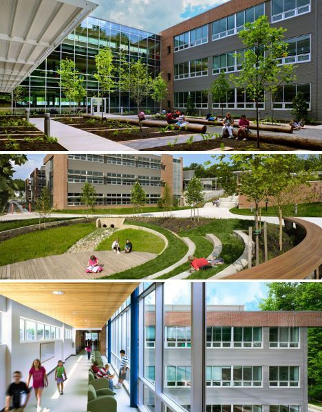 14 sustainable schools - nice information in article # ...