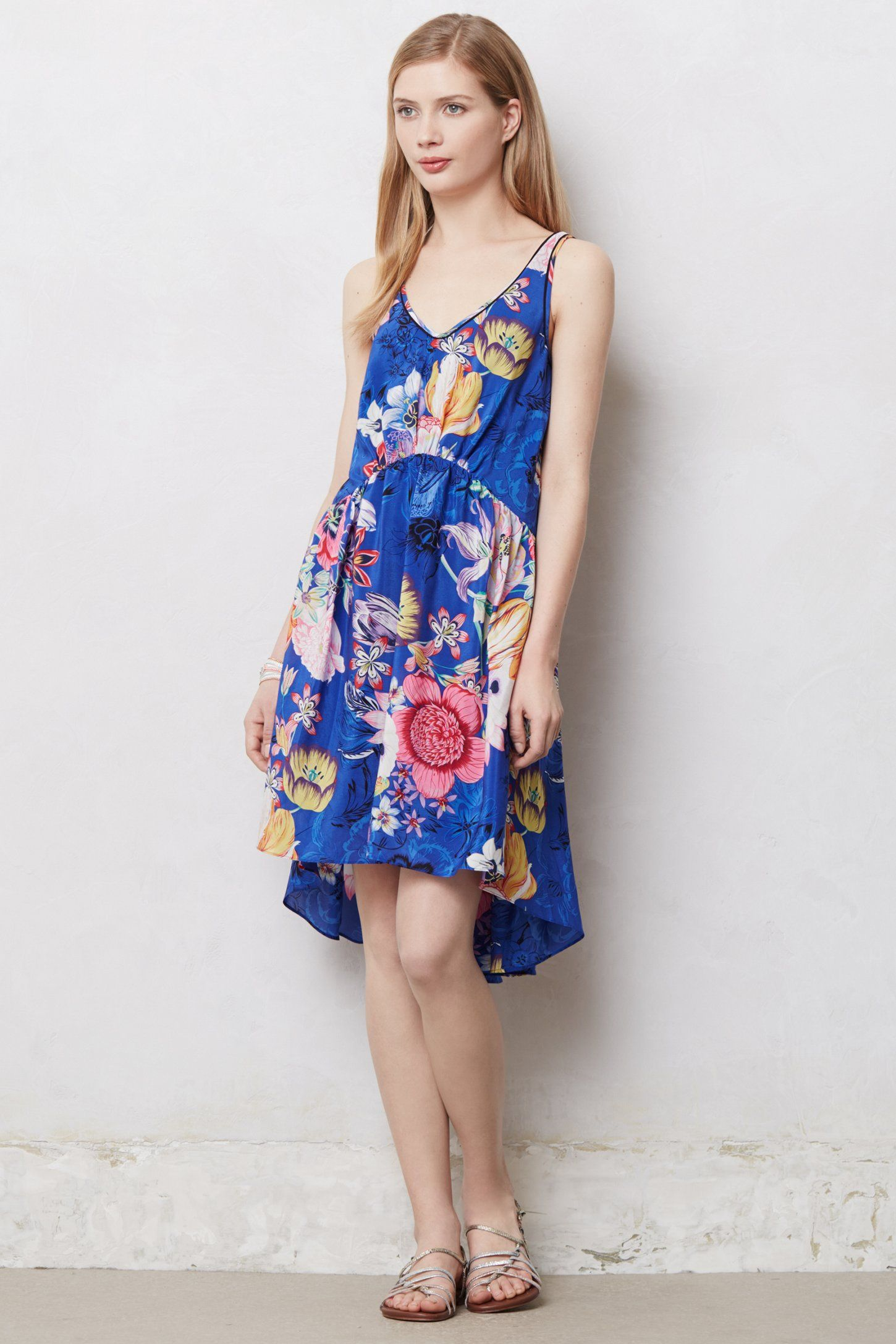 Passionflower High-Low Dress - Anthropologie.com