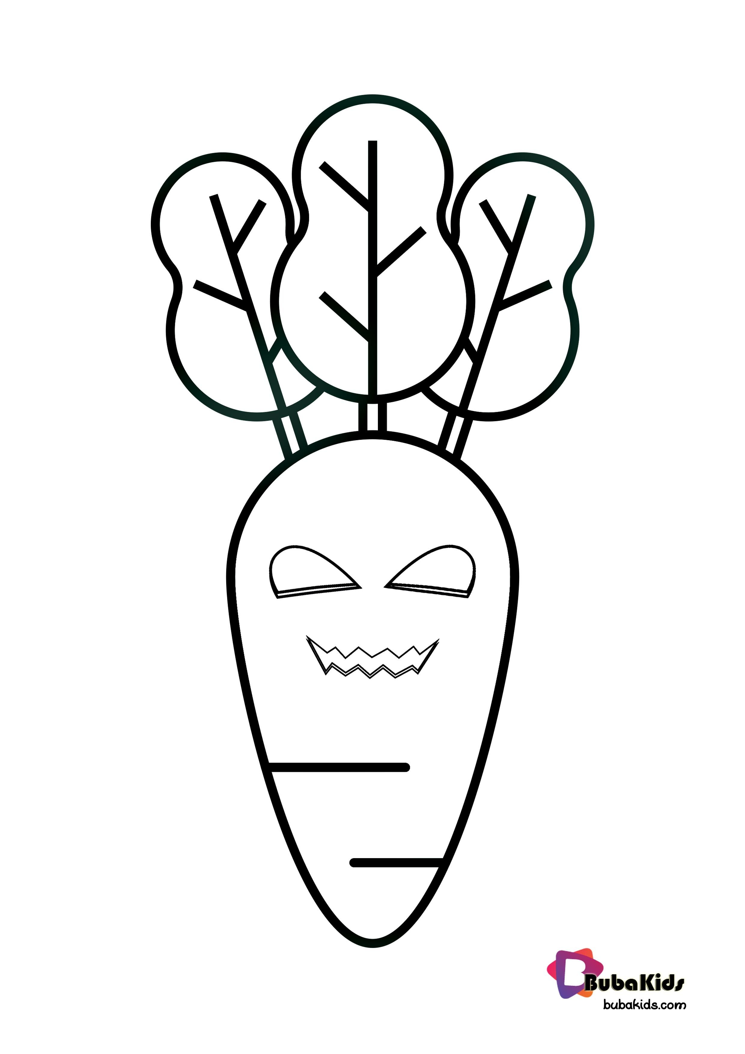 36+ Carrot coloring pages for toddlers info