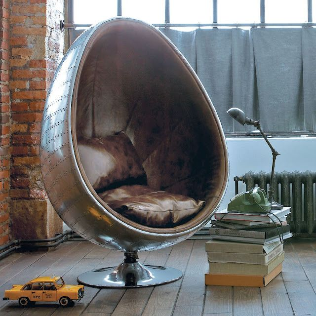 simple egg chair with fauteuil suspendu maison du monde. Black Bedroom Furniture Sets. Home Design Ideas
