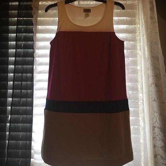 Paris LA Jr./misses large mini dress Preowned multicolored sleeveless mini dress Paris LA Dresses Mini