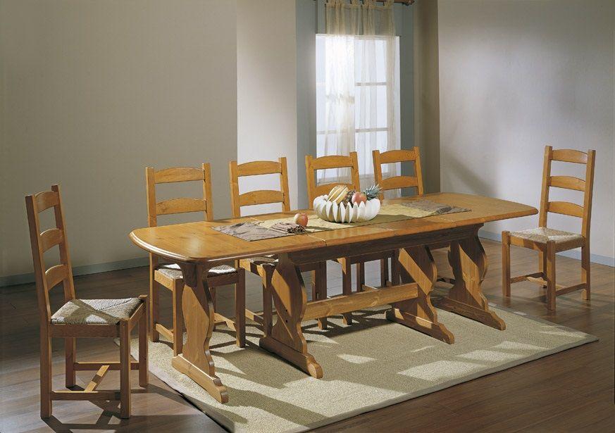 Tavolo fratino cm. 160 x 90 allungabile a cm. 250. Costruito in ...
