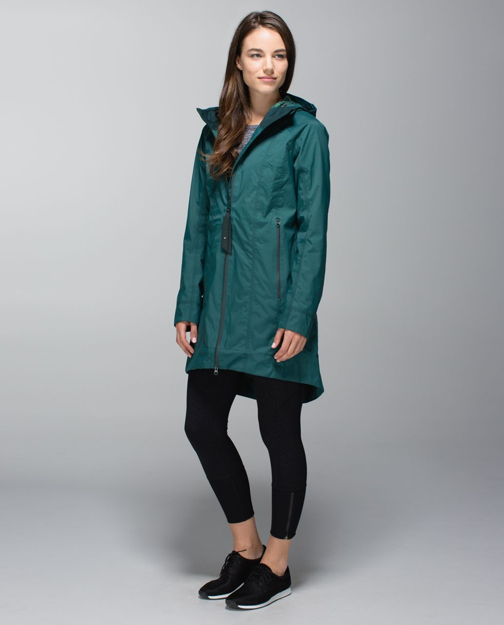 eb07b1d8 Lululemon Right As Rain Jacket - Fuel Green | Outerwear | Lululemon ...