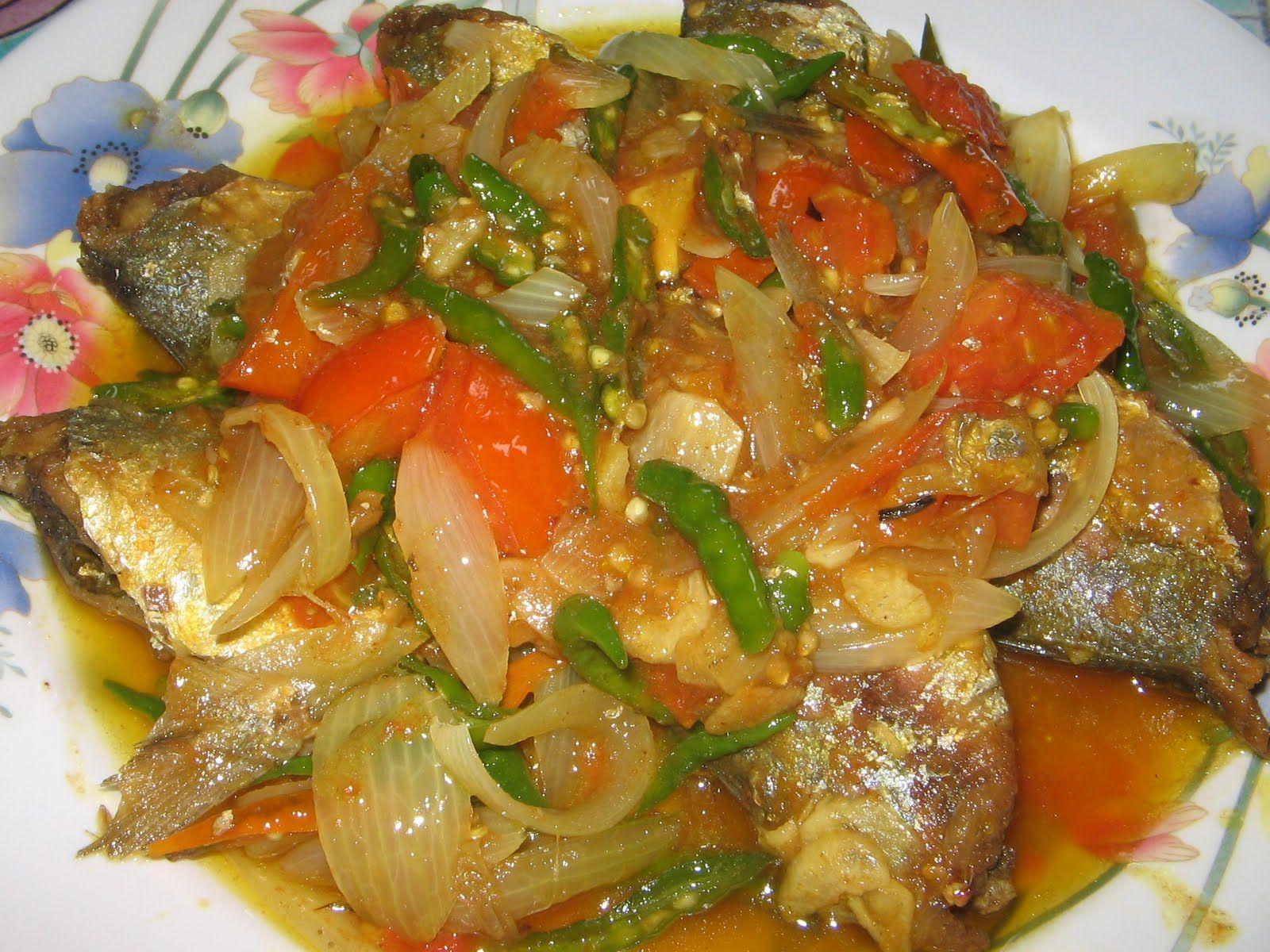 Ikan Kembung Bumbu Iris Fish Resep Seafood Resep Ikan Dan Resep
