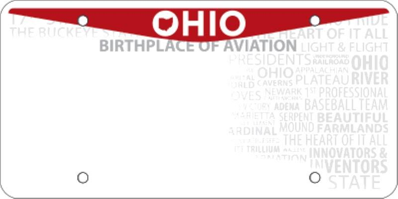 blank ohio license plate template activities pinterest license