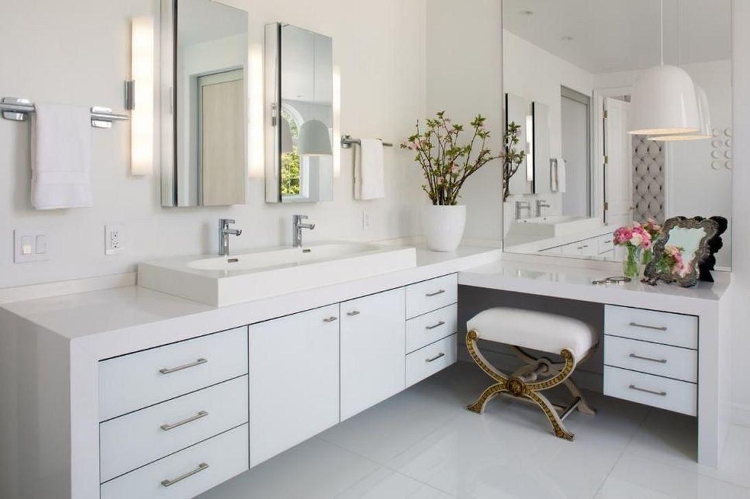48 Fantastische Badezimmer Arbeitsplatte Ideen Elegant Aussehen 22 Ein Faktor Der Bestimmen Die Wahl Der Badezimmer Eitelkeit Weisse Badezimmer Badezimmer Und Badgestaltung