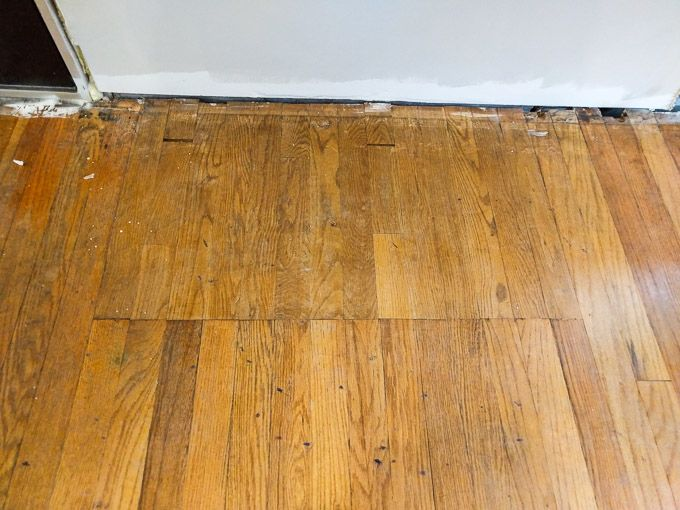 Bad Floor Patch Hardwood Floor Repair Old Wood Floors Flooring