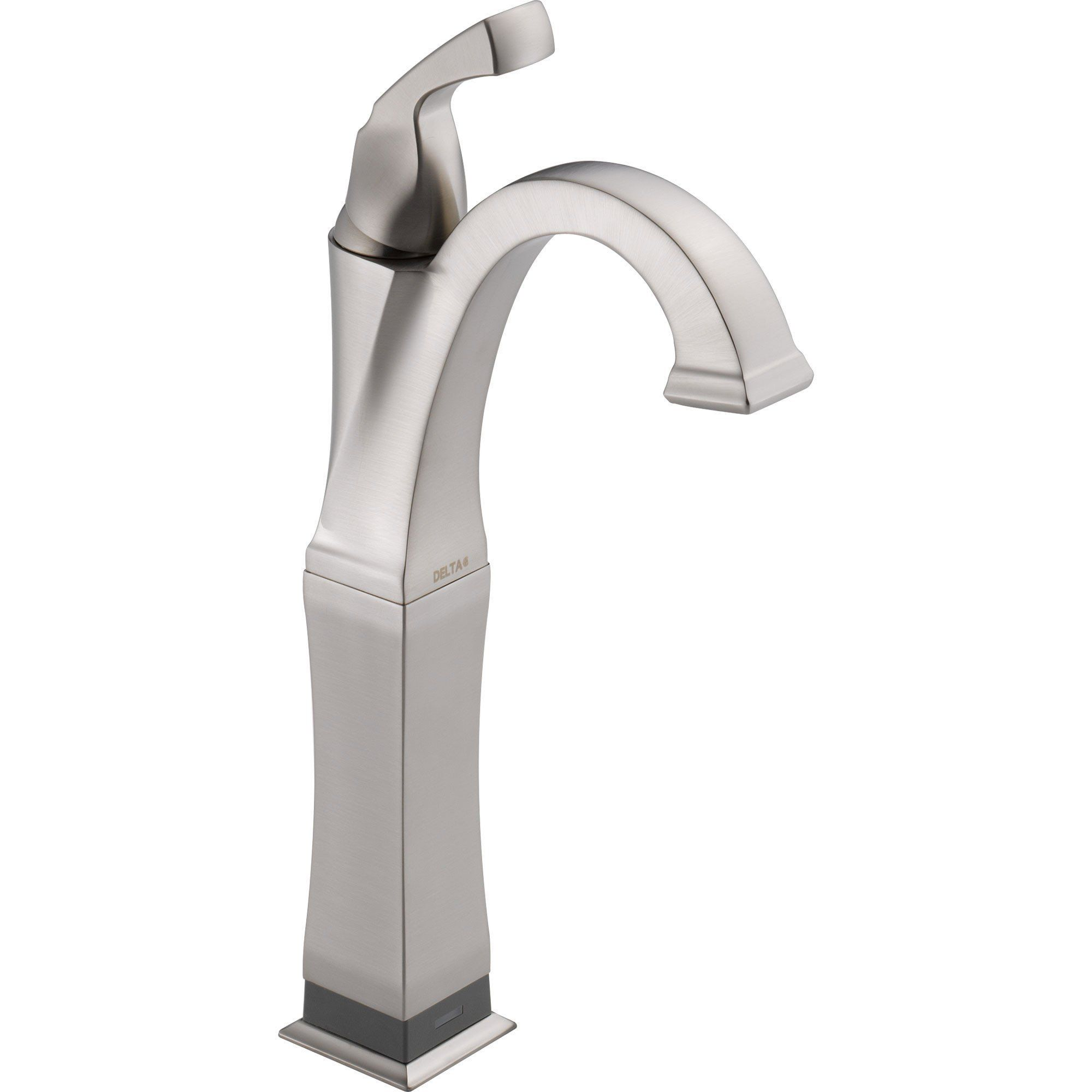 Delta Dryden Touch2o Stainless Steel Finish Vessel Sink Bathroom