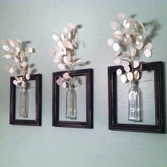 DIY Home Wall decor idea *no instructions just idea Crafts Pinterest
